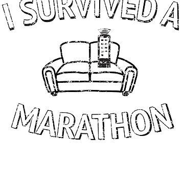I survived TV marathon by artack
