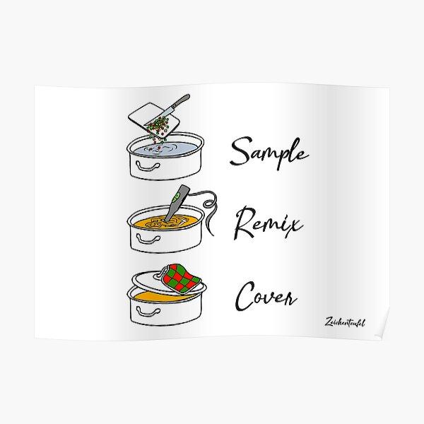Zeichenteufel - Sample Remix Cover Poster