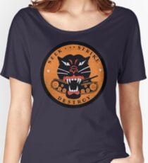 Seek Strike Destroy Tank Destroyer Emblem Women's Relaxed Fit T-Shirt