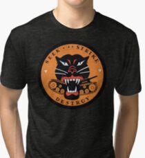 Seek Strike Destroy Tank Destroyer Emblem Tri-blend T-Shirt