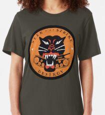Seek Strike Destroy Tank Destroyer Emblem Slim Fit T-Shirt