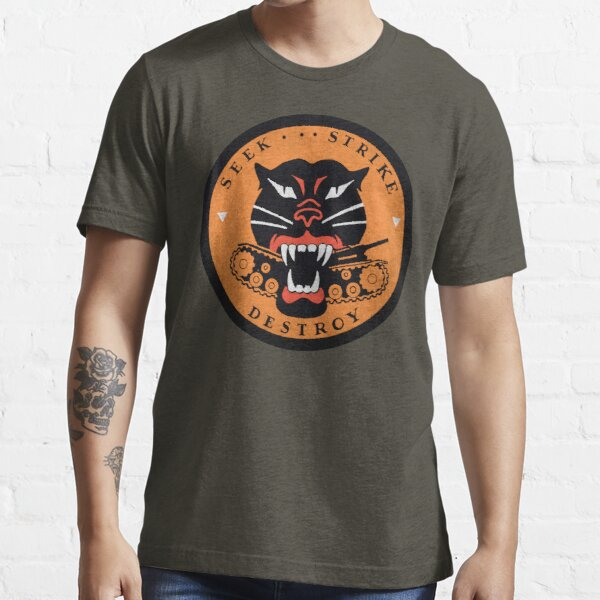 Seek Strike Destroy Tank Destroyer Emblem Essential T-Shirt