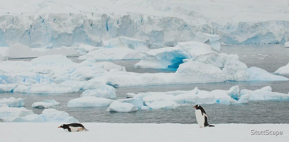 Antarctic Blues by StottScape