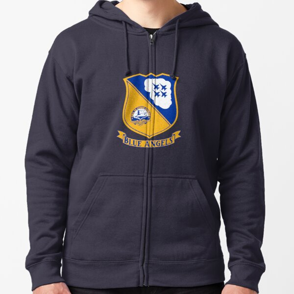 Blue Angels - United States Navy Zipped Hoodie