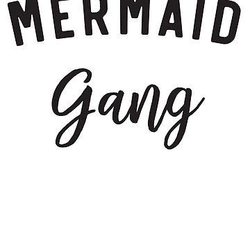 Mermaid gang by artack