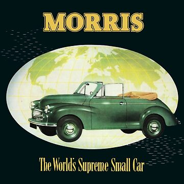 MORRIS MINOR by ThrowbackMotors