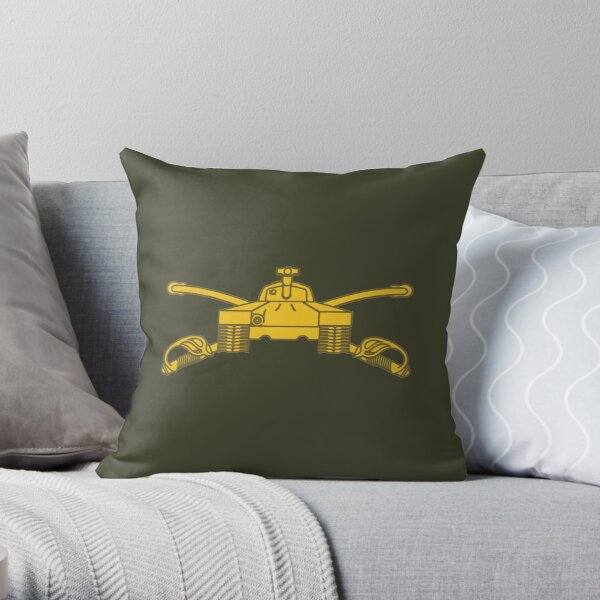 Armor Branch (United States Army) Throw Pillow