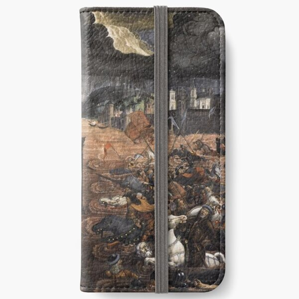 The Crossing of the Red Sea (Sistine Chapel) iPhone Wallet