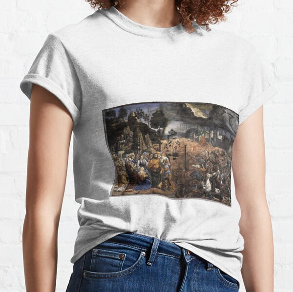 Jewish,  The Crossing of the Red Sea (Sistine Chapel) Classic T-Shirt