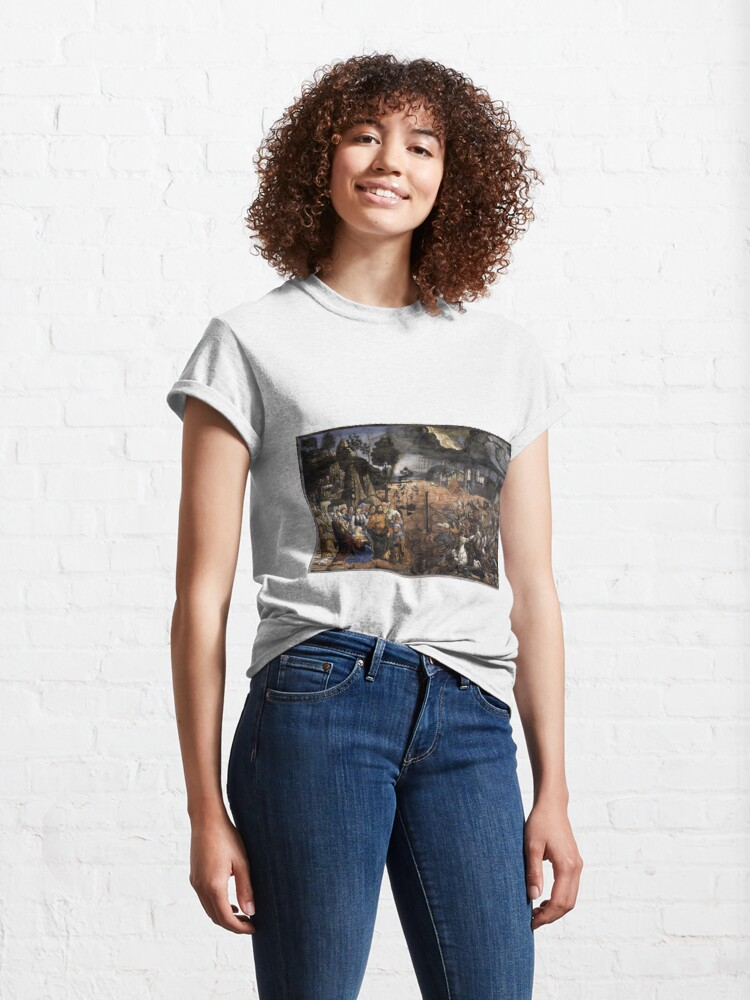 Alternate view of The Crossing of the Red Sea (Sistine Chapel) Classic T-Shirt