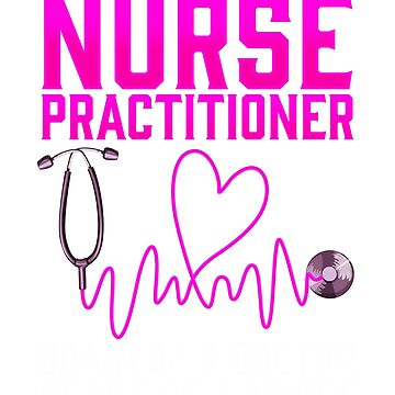 Nurse Practitioner Shirt Cute Nurse Gift by BlueBerry-Pengu