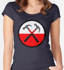 Pink Floyd Hammers Women's Fitted Scoop T-Shirt