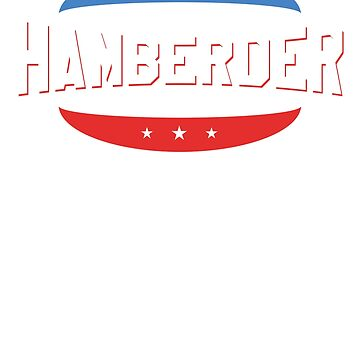 Hamberder Since 2019 US Flag Hamburger by ixmanga