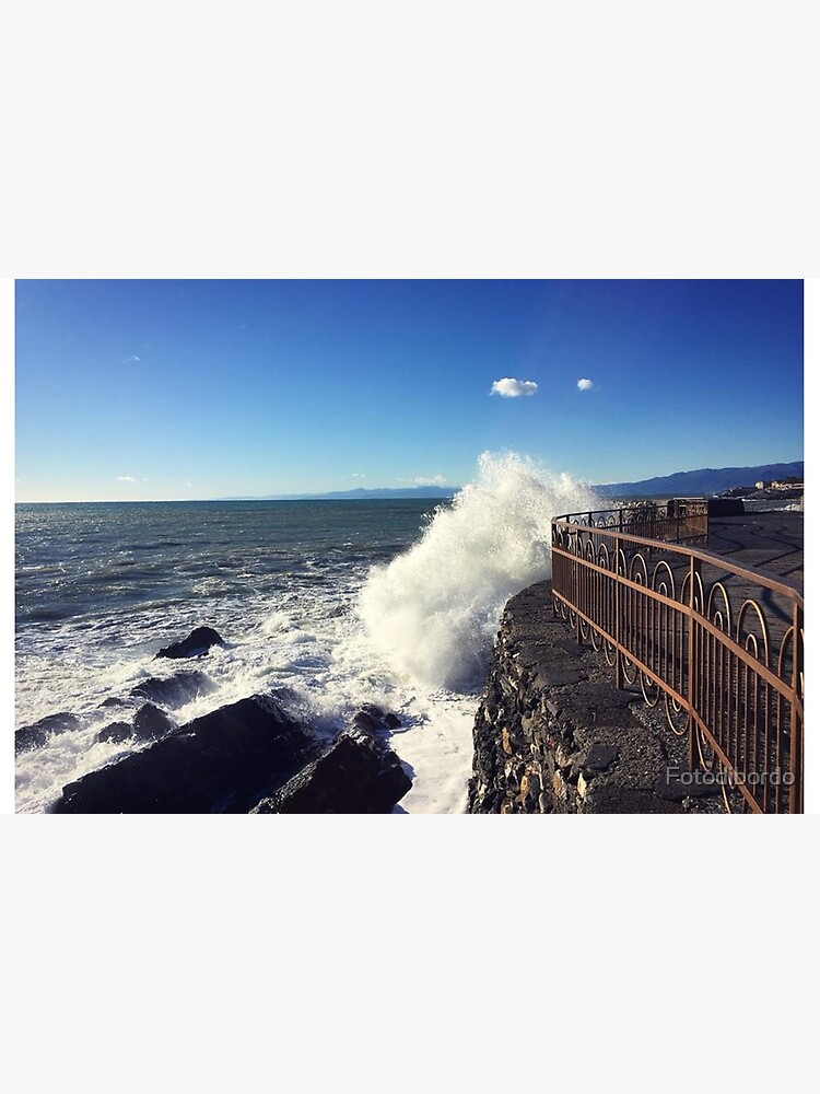 Foto onde mare Genoa - Photo waves sea Genoa by Fotodibordo