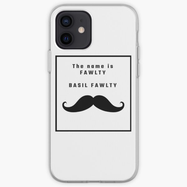 Funny Fawlty iPhone Soft Case