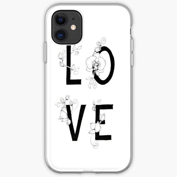 Love orchids iPhone Soft Case