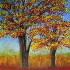 Autumn trees by maggie326