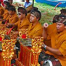 Balinese cremation ceremony 5 by Adri  Padmos