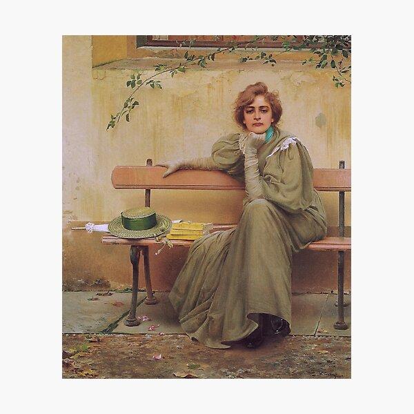 Vittorio Matteo Corcos - Dreams Sogni 1896 Photographic Print
