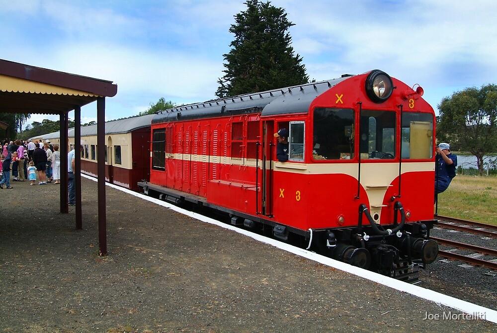 Historic Drysdale Railway Station,Bellarine Peninsula by Joe Mortelliti