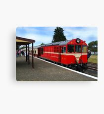 Historic Drysdale Railway Station,Bellarine Peninsula Canvas Print