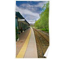 Rannoch Station Poster