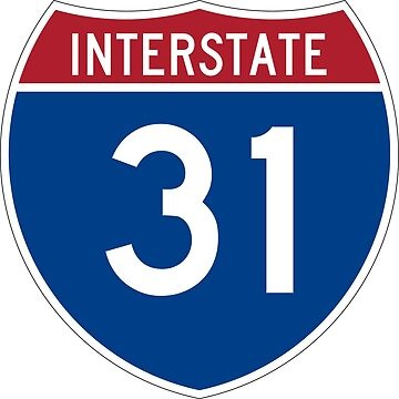 Interstate Number 31 | Interstate Highway Thirty one by igorsin