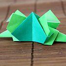 Origami Dinosaur by Leesa Habener
