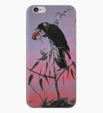 Carnaby's Cockatoo at Sunrise iPhone Case