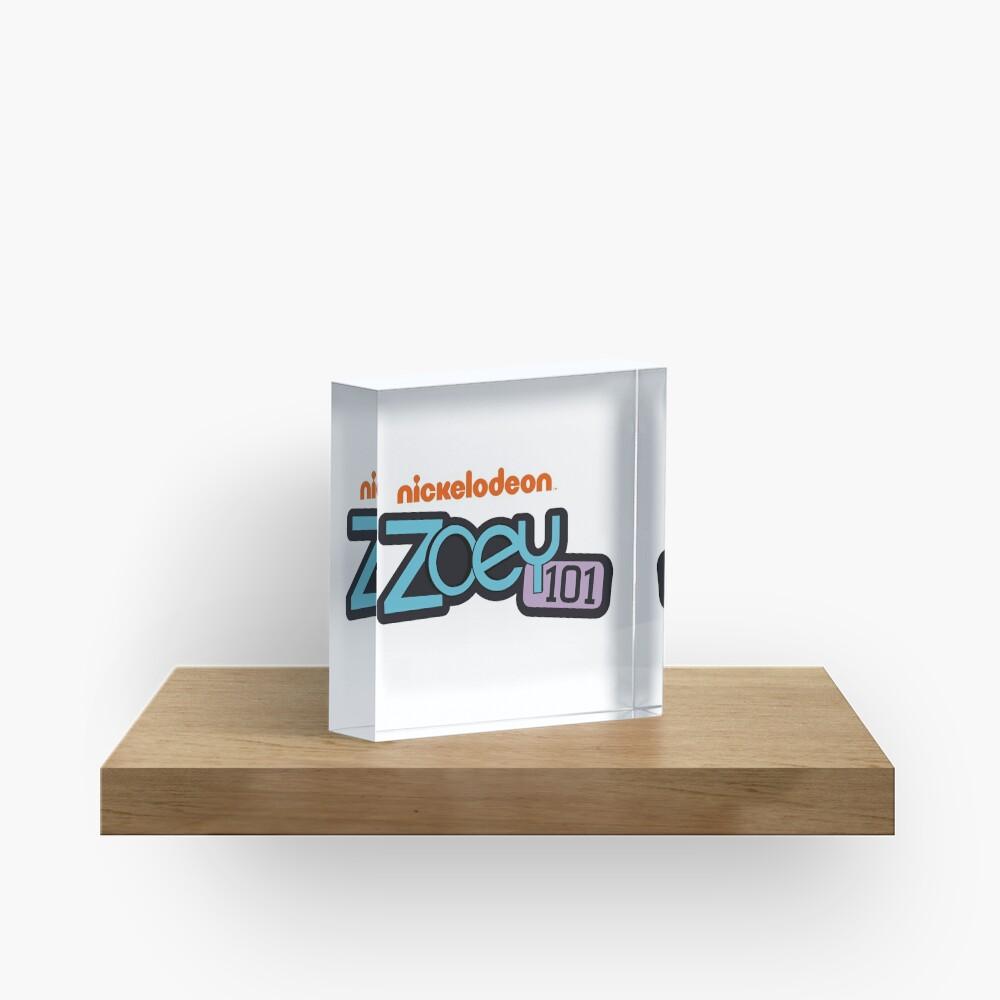 Zoey 101 Logo Vector Acrylic Block