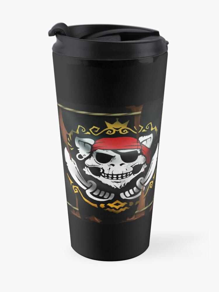Alternate view of GoEaSy Pirate Mug Travel Mug
