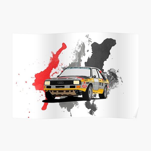 Audi Sport Quattro Póster