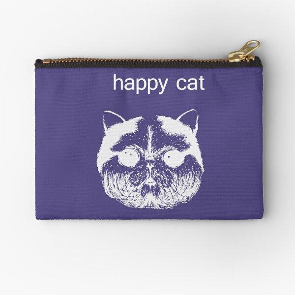 happy cat Zipper Pouch