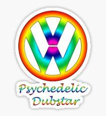 Psychedelic dubstar  Sticker