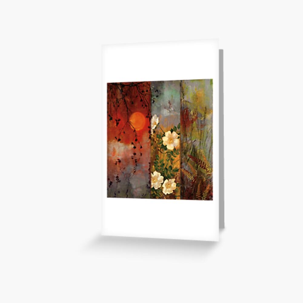 Whisper Forest Moon II Greeting Card