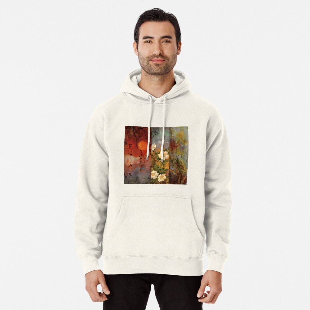 Whisper Forest Moon II Pullover Hoodie