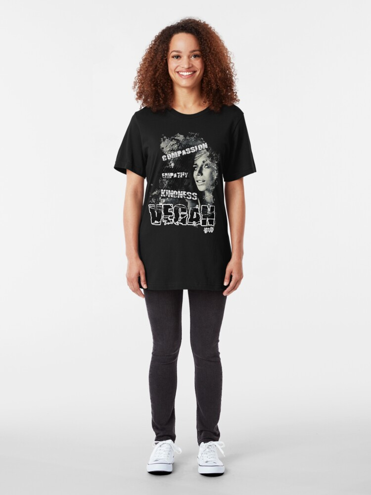 Alternate view of VeganChic ~ CEK Slim Fit T-Shirt