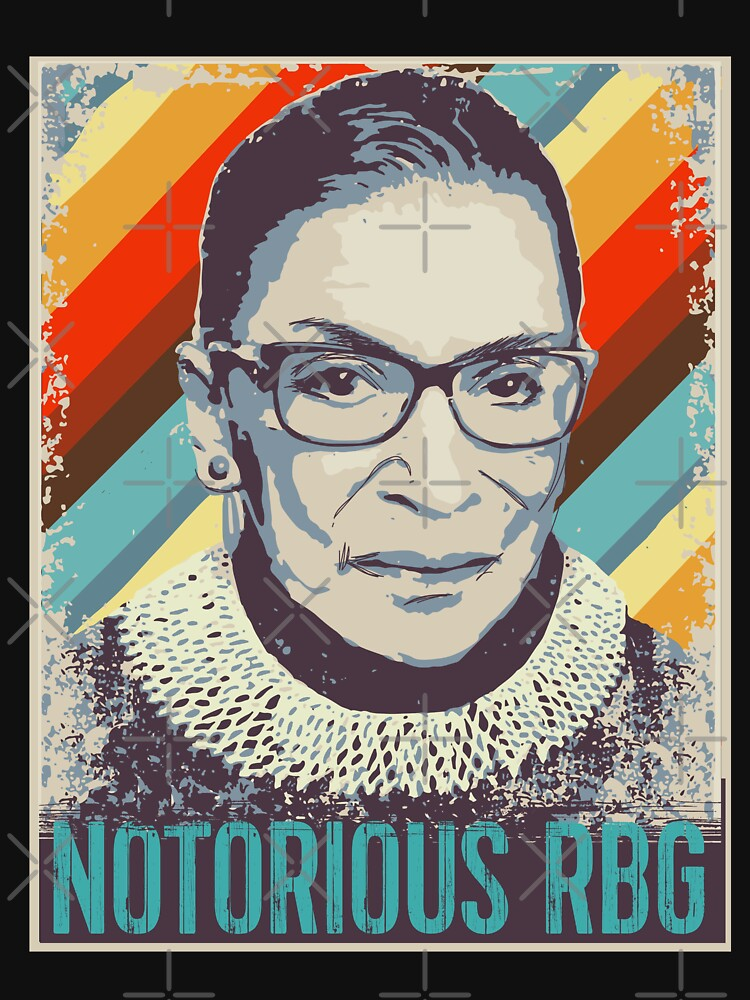 Ruth Bader Ginsburg Notorious RBG Feminist Gifts by EcoKeeps