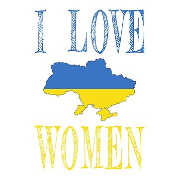 I love Ukrainian women by jhussar