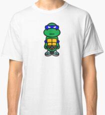 Blue Renaissance Turtle Classic T-Shirt