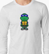 Blue Renaissance Turtle Long Sleeve T-Shirt