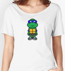 Blue Renaissance Turtle Women's Relaxed Fit T-Shirt
