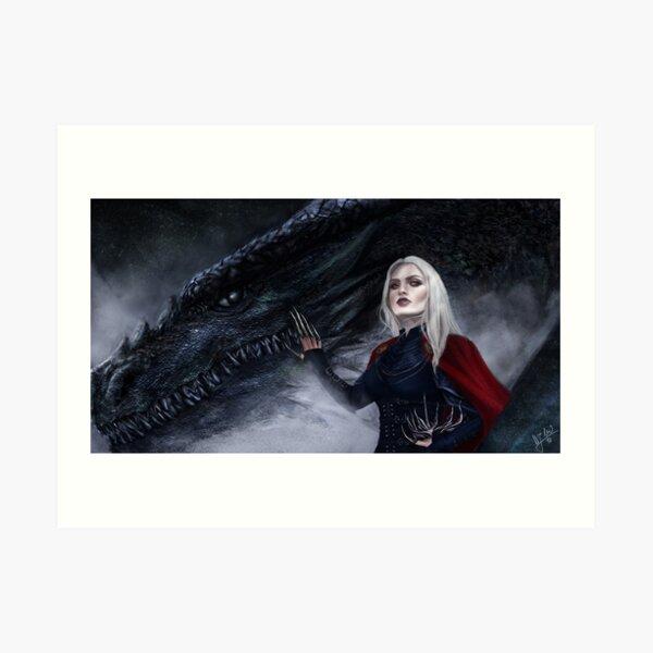 Manon & Abraxos Art Print