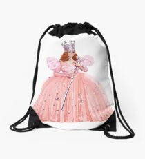 Glinda die gute Hexe, Der Zauberer von Oz, Realistische digitale Malerei, Ganzkörperporträt, Kein Hintergrund Turnbeutel
