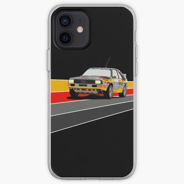Audi Sport Quattro Funda blanda para iPhone