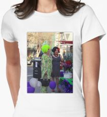 A Sequential Event Women's Fitted T-Shirt