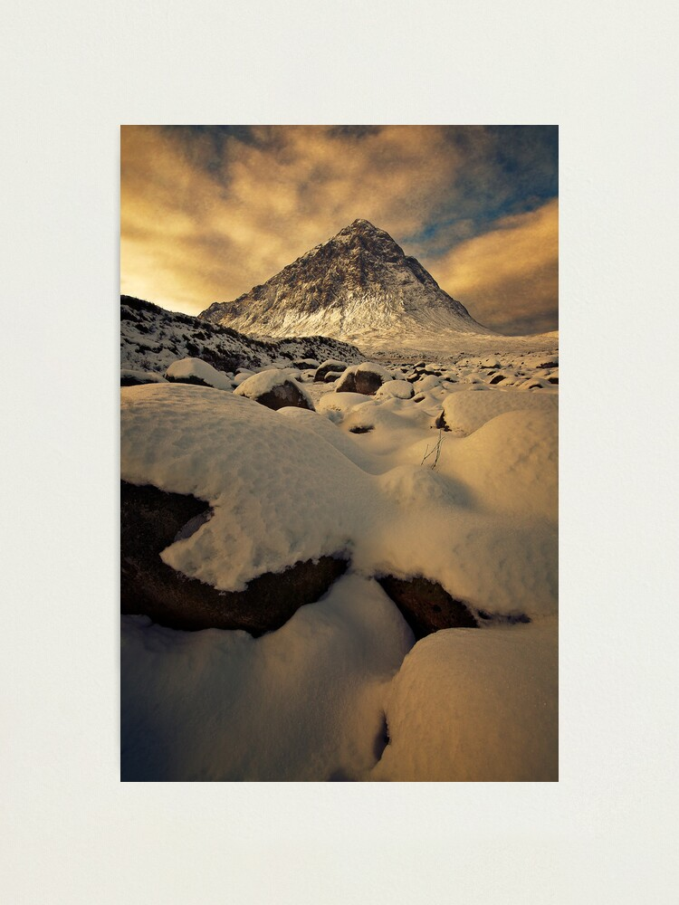 Alternate view of Winter Blanket (2) Photographic Print