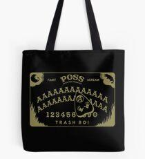 Possum Ouija Board (Gold on Black) - Funny Opossum Oujia Design Tote Bag