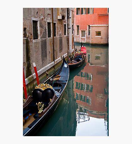 Quiet Water in Venice Photographic Print