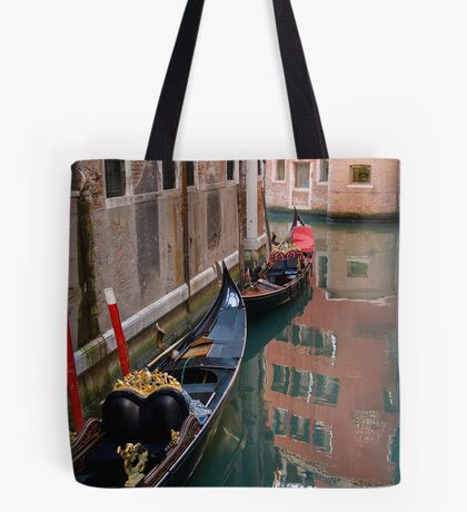 Quiet Water in Venice Tote Bag